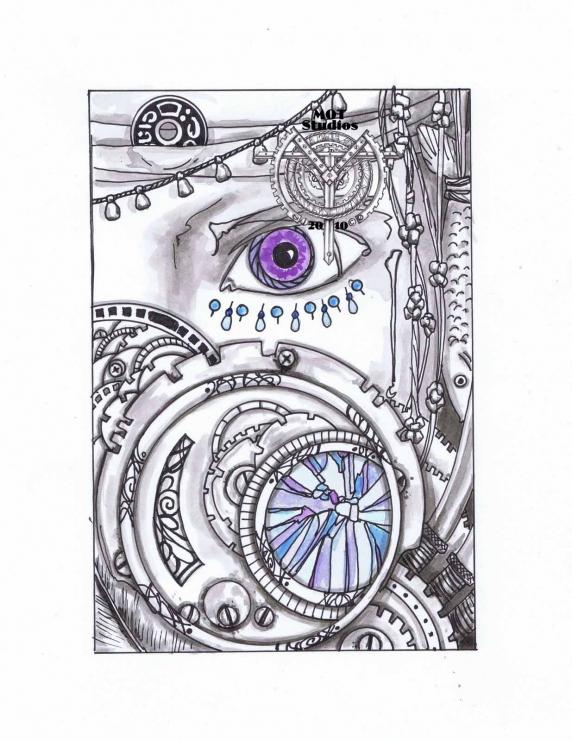 eye behind gears
